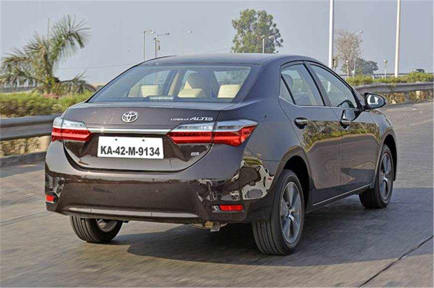 2017 Toyota Corolla Altis Facelift Review Test Drive
