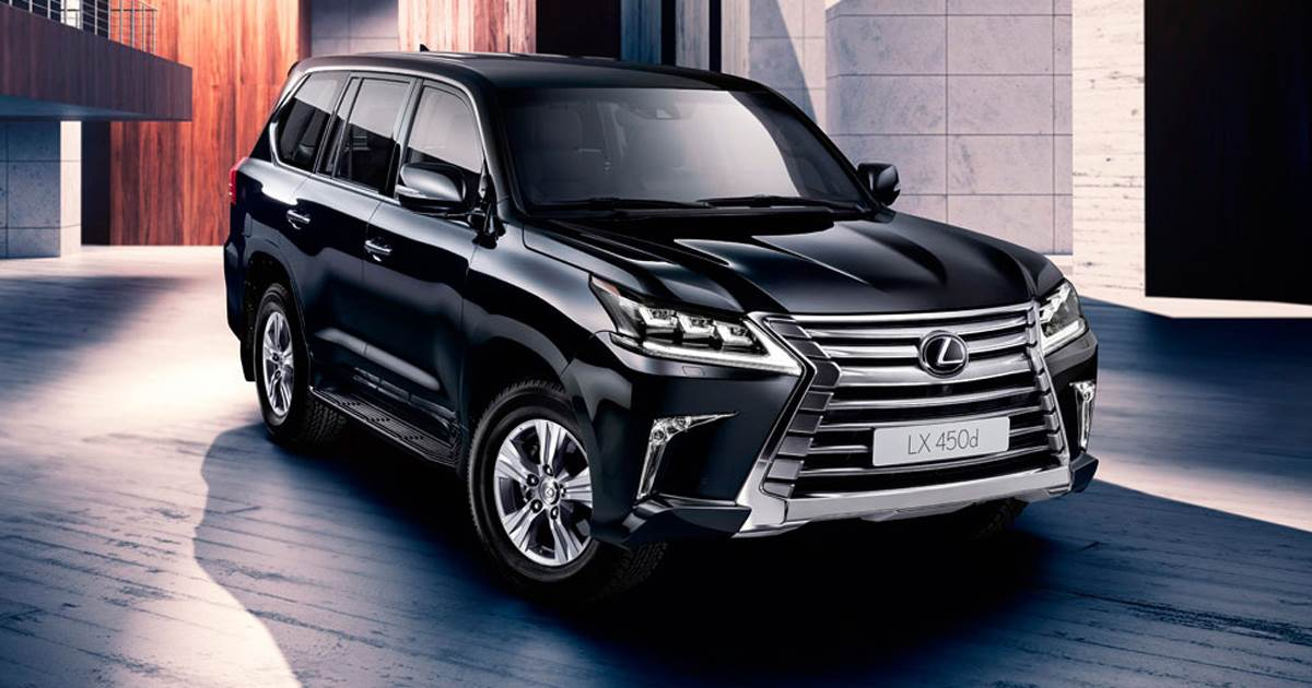 2017 Lexus Lx450d Suv Price Specifications Feature List