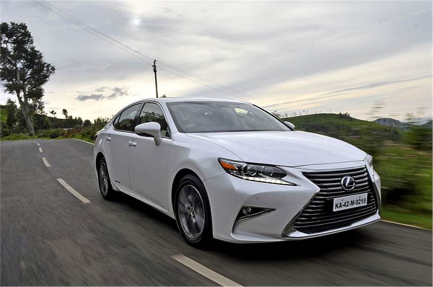 2017 Lexus Es300h Hybrid India Review Price Specifications And