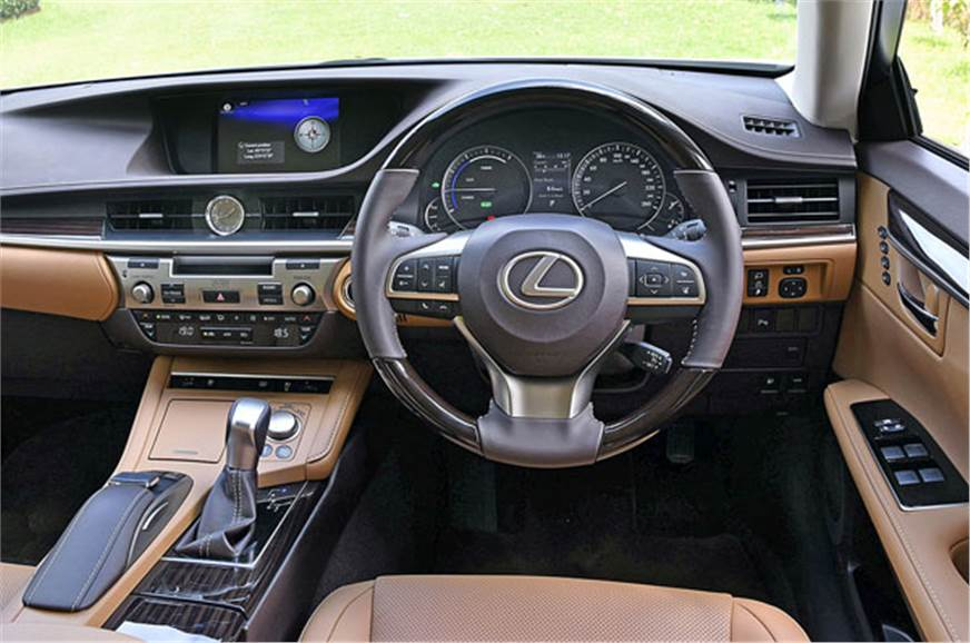 2017 Lexus ES300h hybrid India review, price, specifications