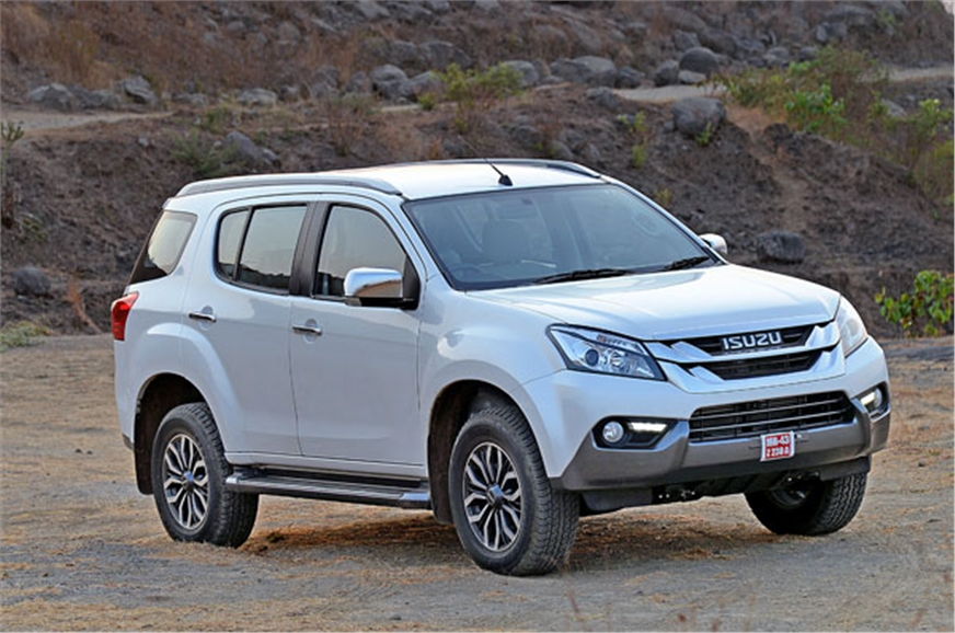 2017 isuzu mu x suv review prices test drive autocar india 5 7 sciox Image collections