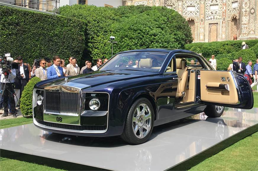 one-off rolls-royce sweptail revealed - autocar india