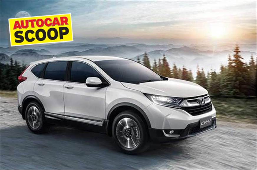 New Honda CR-V diesel India launch date, expected price, interior details - Autocar India