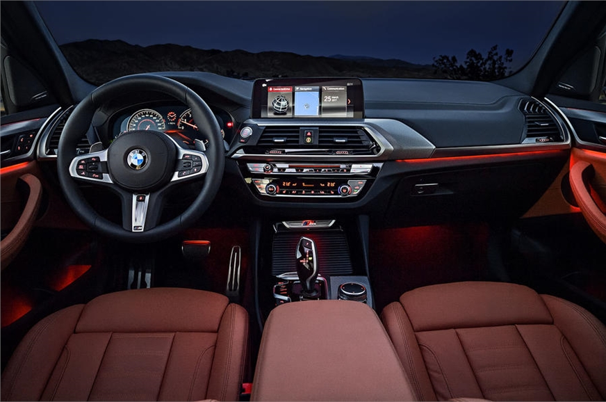 2018 bmw x3 specs features interior image autocar india. Black Bedroom Furniture Sets. Home Design Ideas