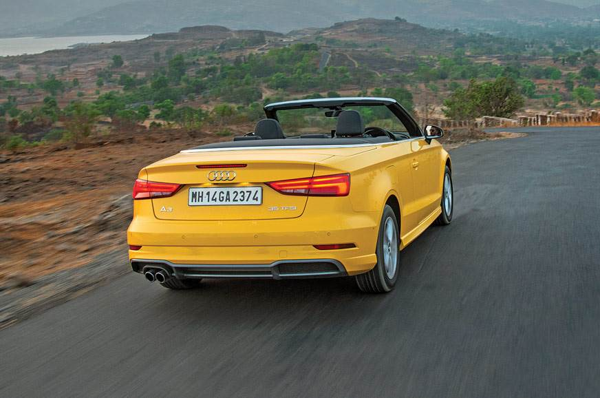 2017 Audi A3 Cabriolet Review Interior Equipment Specifications Autocar India