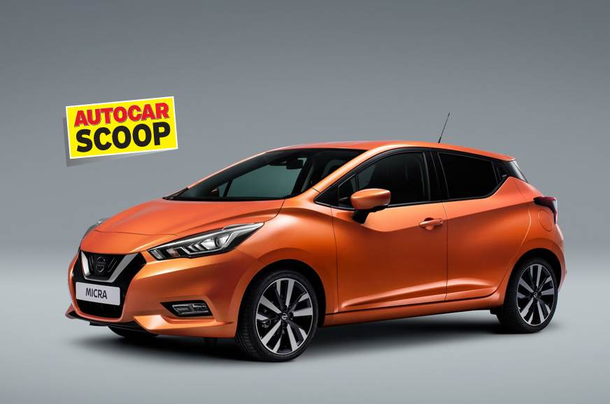 Next-gen Nissan Micra coming in 2019 - Autocar India