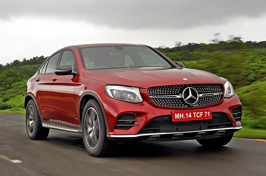 2017 Mercedes Amg Glc 43 Coupe Review Test Drive Autocar India