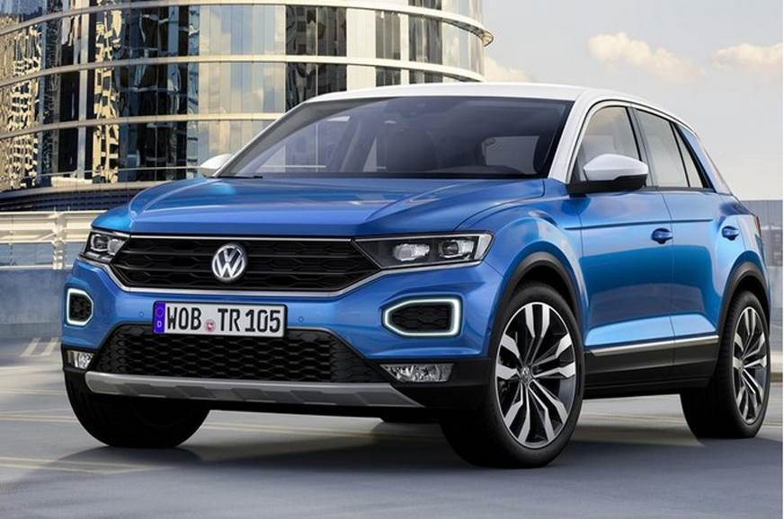 2017 volkswagen t roc suv unveiled autocar india. Black Bedroom Furniture Sets. Home Design Ideas