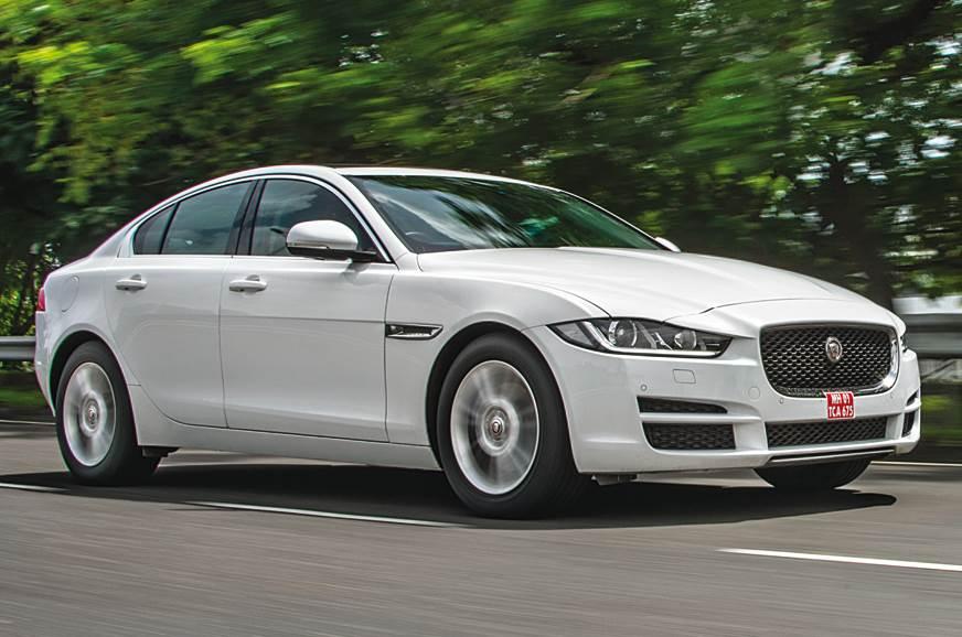 2017 jaguar xe review, test drive - autocar india