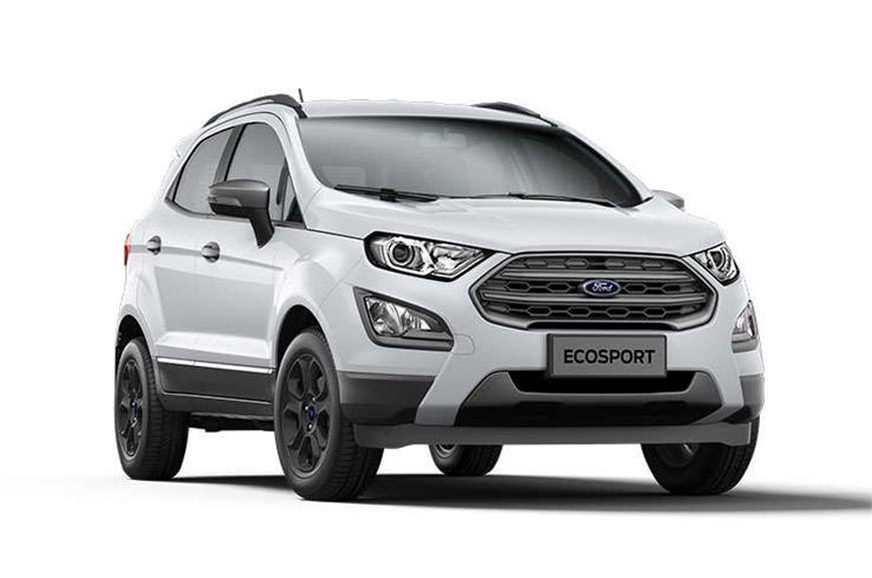 Ford EcoSport Facelift Price Variants Engine Details Equipment