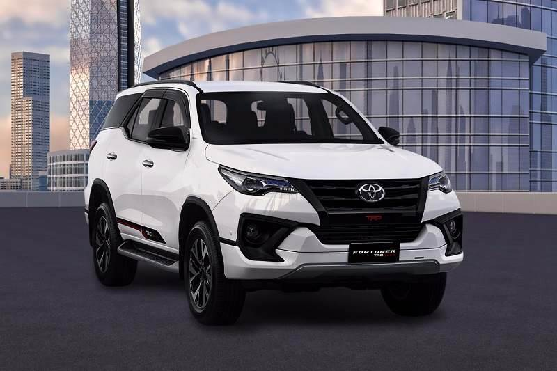 2017 Toyota Fortuner TRD Sportivo India price, expected