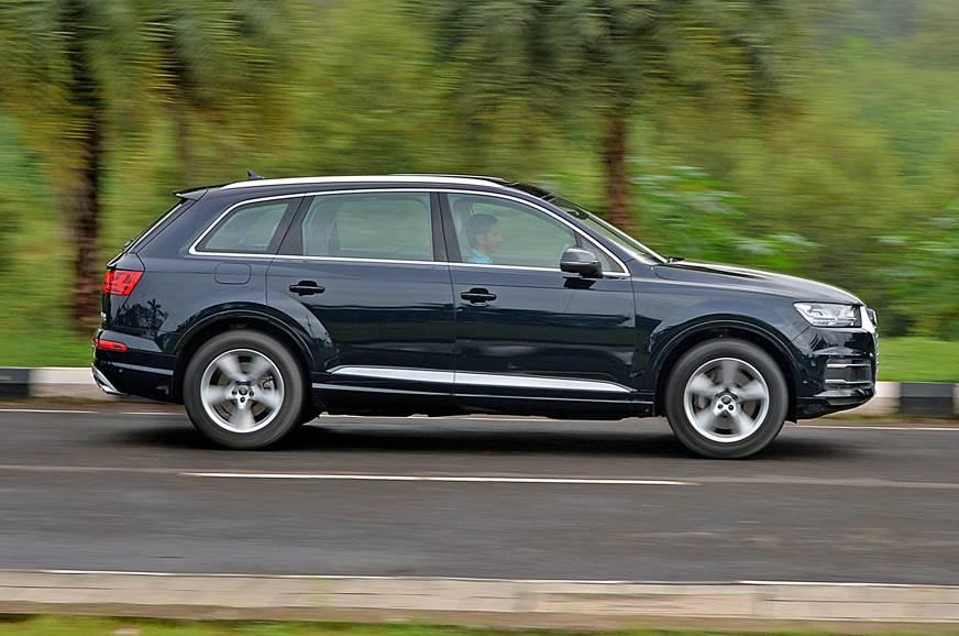 Audi Q TFSI Review Test Drive Autocar India - Audi q7 review