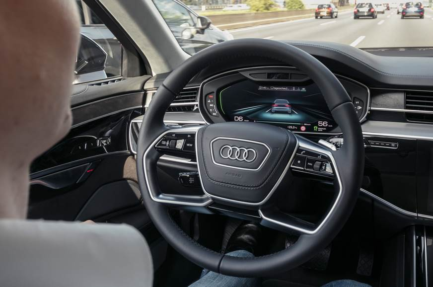 Audi Confirms Acceptance Of Liability In Selfdriving Car Accidents - Audi self driving car