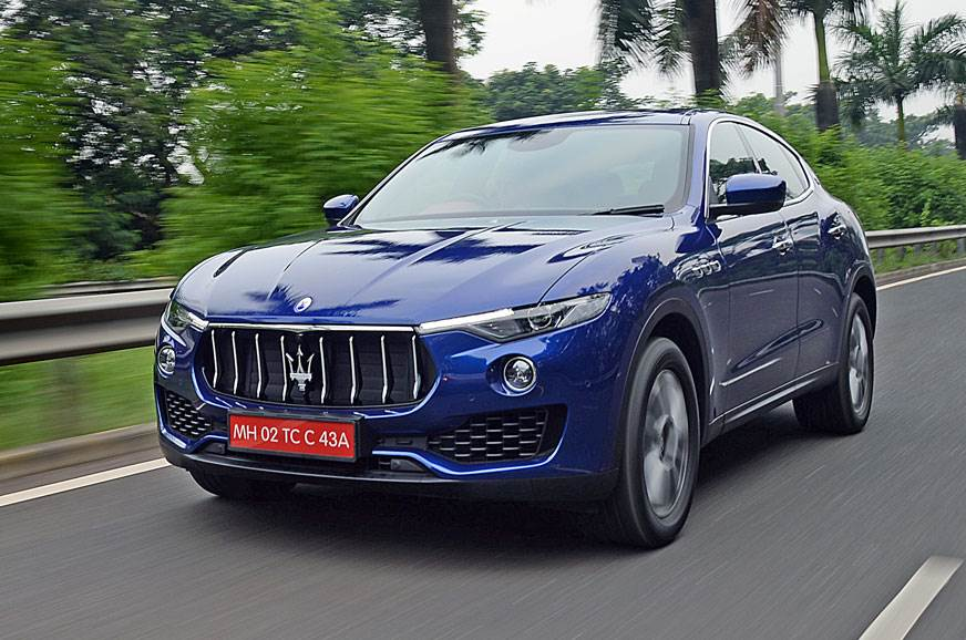 2017 maserati levante review test drive autocar india. Black Bedroom Furniture Sets. Home Design Ideas