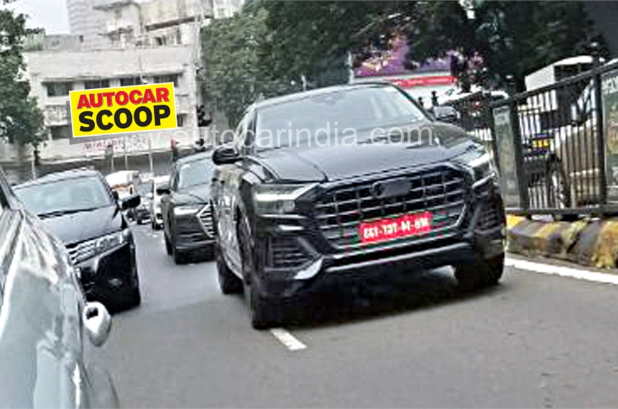 Audi Q Spied In India For The First Time Autocar India - Audi autocar