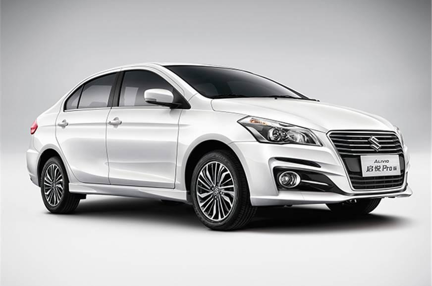 Suzuki Alivio Maruti Ciaz Facelift Revealed Expected India Launch
