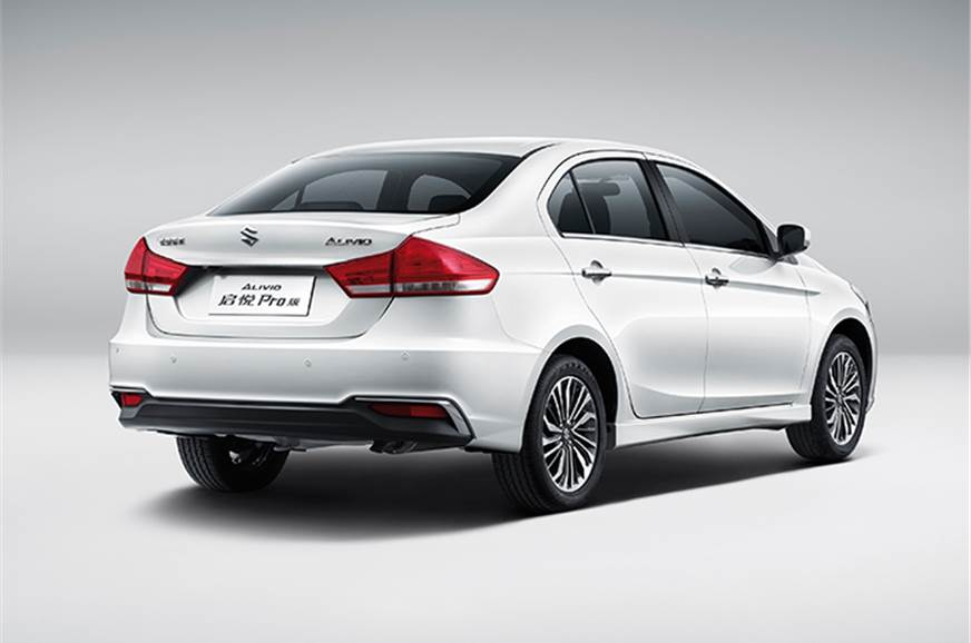 Suzuki Alivio Maruti Ciaz Facelift Revealed Expected India Launch