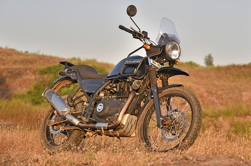 Image result for 2017 Royal Enfield Himalayan FI review, test ride