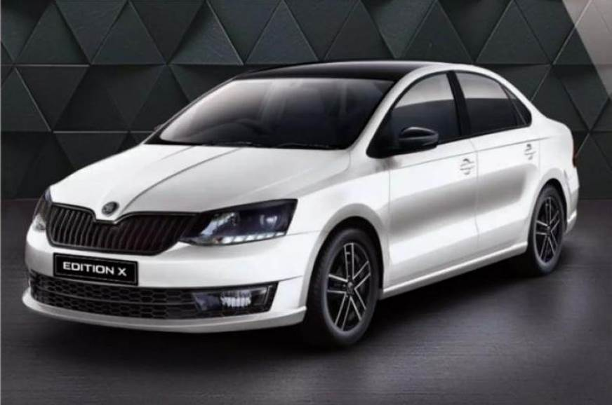 Skoda Rapid Monte Carlo Re Badged As Edition X Autocar India