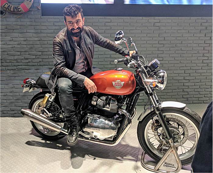 In Conversation With Siddhartha Lal Ceo Royal Enfield Autocar India