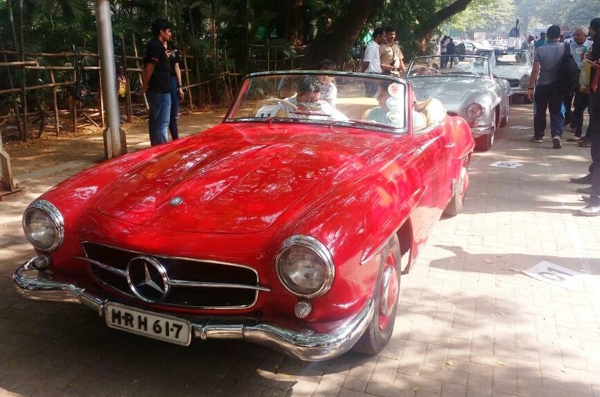 Record entries for Mercedes Classic Car Rally - Autocar India