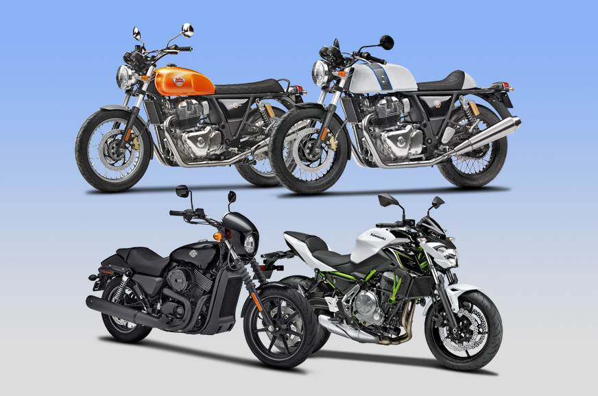 Royal Enfield 650 Twins Vs Rivals Specifications Comparison