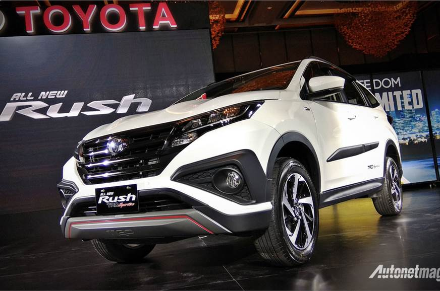 2018 Toyota Rush Unveiled India Launch Details Pricing Engine