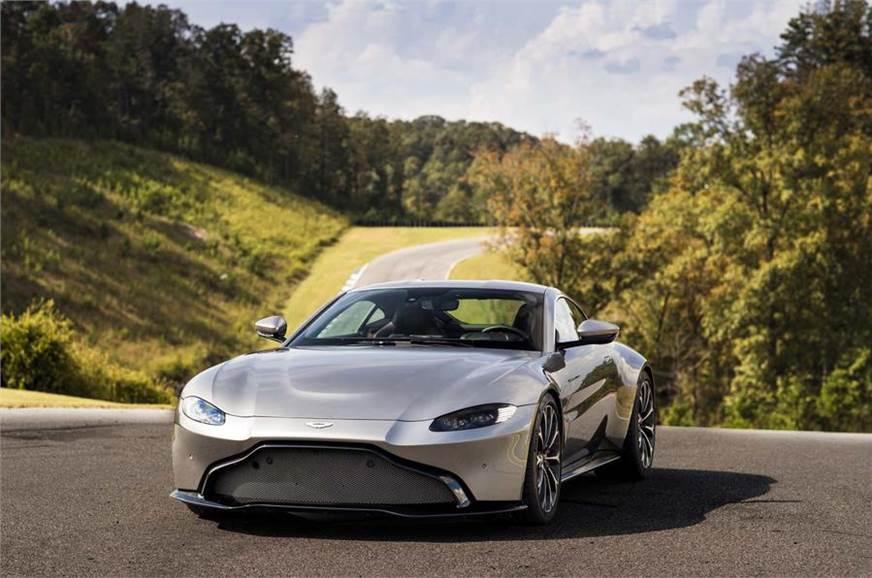 2018 Aston Martin Vantage Revealed Autocar India