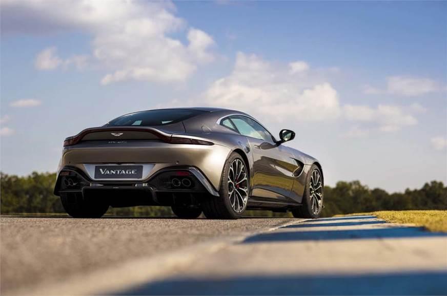 Aston Martin Vantage Revealed Autocar India - 2018 aston martin vantage