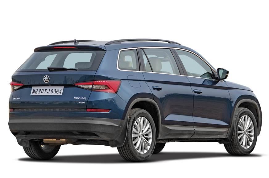 2017 Skoda Kodiaq Vs Ford Endeavour Vs Volkswagen Tiguan Comparison