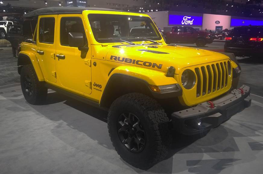 New 2018 Jeep Wrangler India launch date, engine details, interior