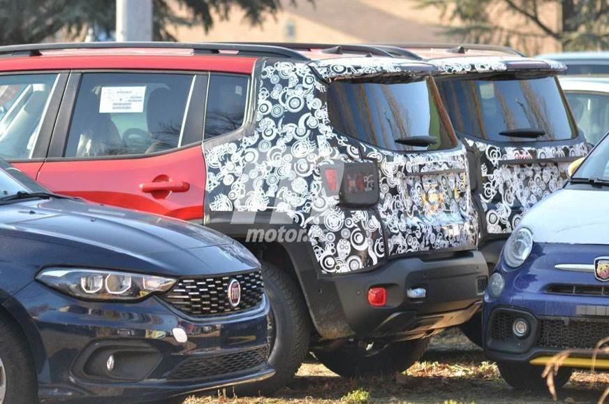 2019 Jeep Renegade Facelift Spied For The First Time Autocar India