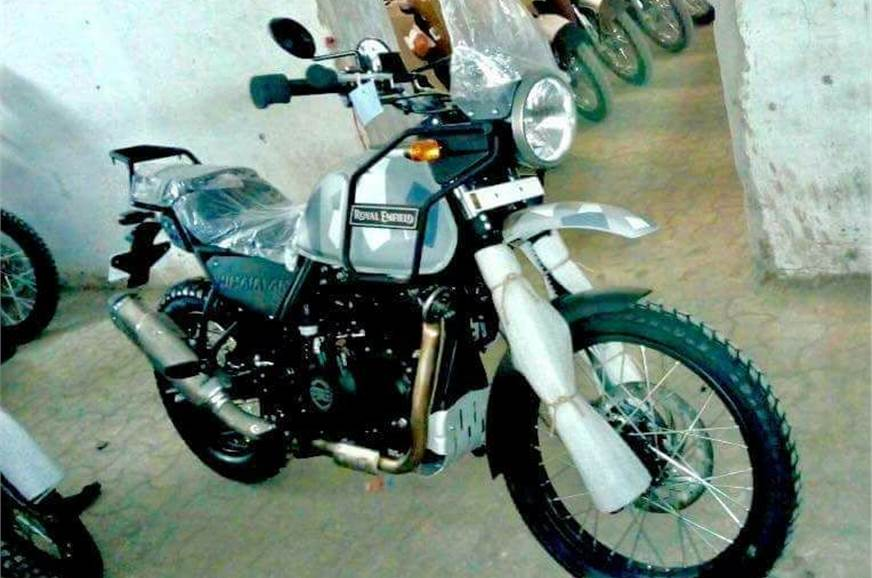 Royal Enfield Himalayan Fi To Be Launched In New Sleet Colour