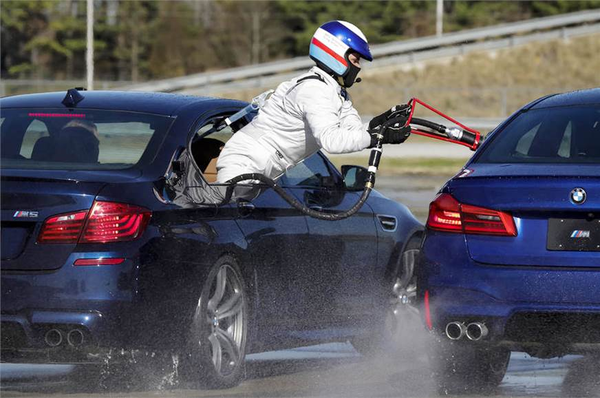 Bmw M5 Breaks World Record For The Longest Drift Autocar India