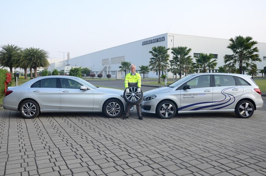 Mercedes benz introduces 24x7 road assistance programme for Mercedes benz roadside service