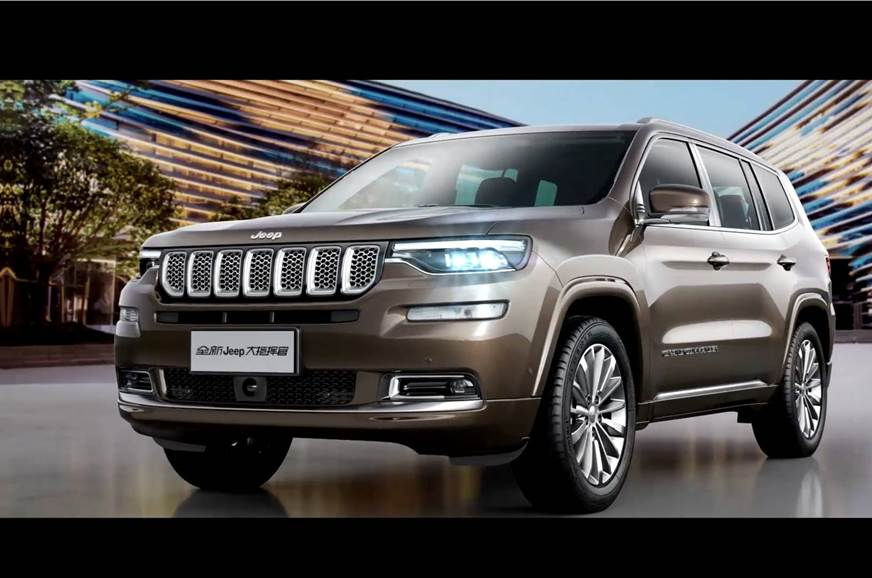 Jeep Grand Commander Seven Seat Suv Launch Pricing Beijing Auto