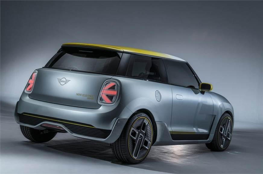 The Electric Concept Mini Had On Display At 2017 Frankfurt Motor Show
