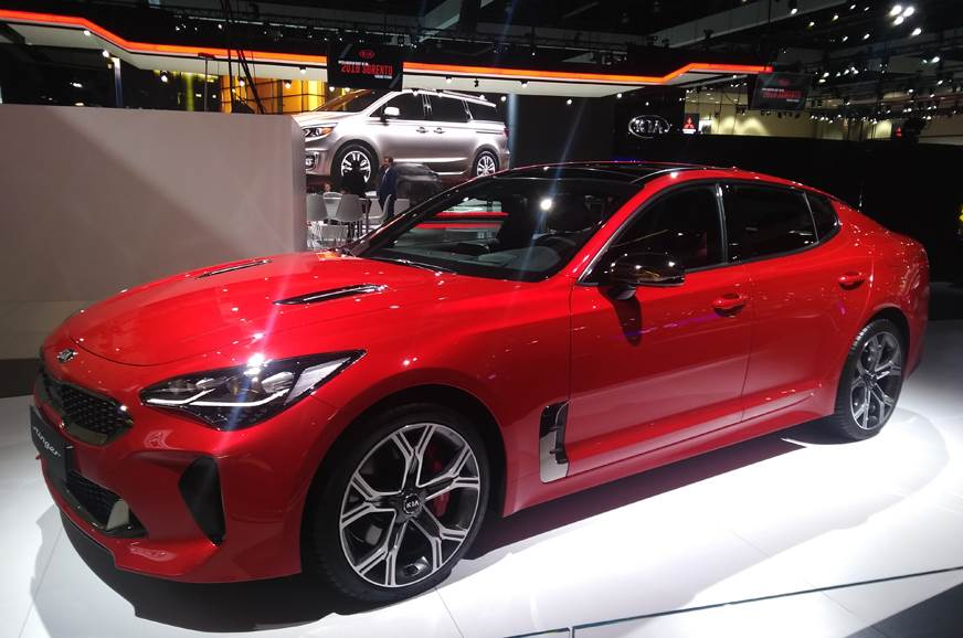 Kia Stinger To Be Showcased At Auto Expo 2018 Along With Global Line