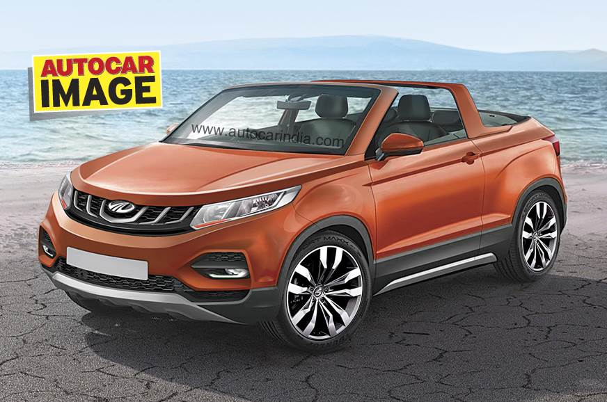 Scoop Mahindra To Debut Convertible Suv Concept At Auto Expo 2018