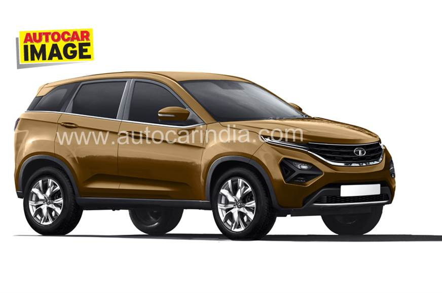 New tata h5 harrier suv india reveal at auto expo 2018 for H and r auto motors