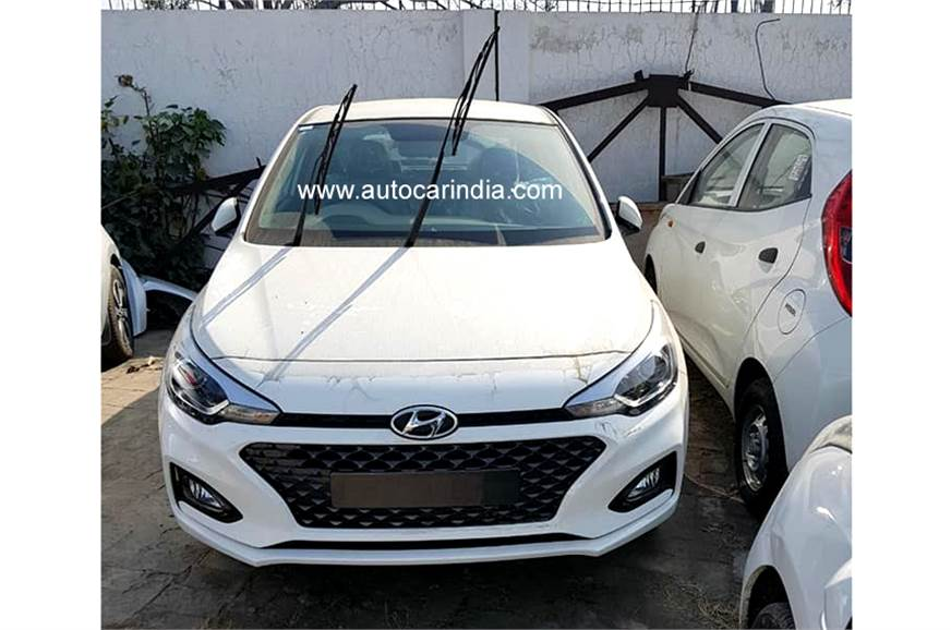 2018 hyundai i20 facelift launch date price interior and. Black Bedroom Furniture Sets. Home Design Ideas