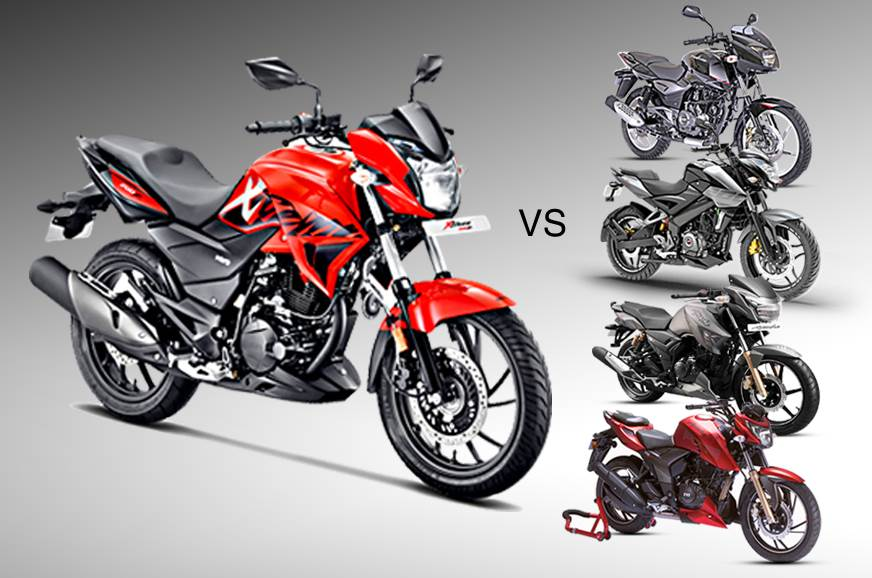 Outstanding 2018 Hero Xtreme 200R Vs Bajaj Pulsar Vs Tvs Apache Rtr Alphanode Cool Chair Designs And Ideas Alphanodeonline