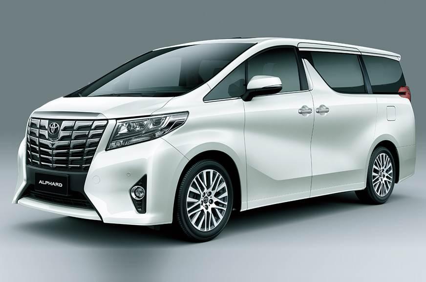 Toyota Evaluating Alphard Mpv For India Launch Auto Expo 2018