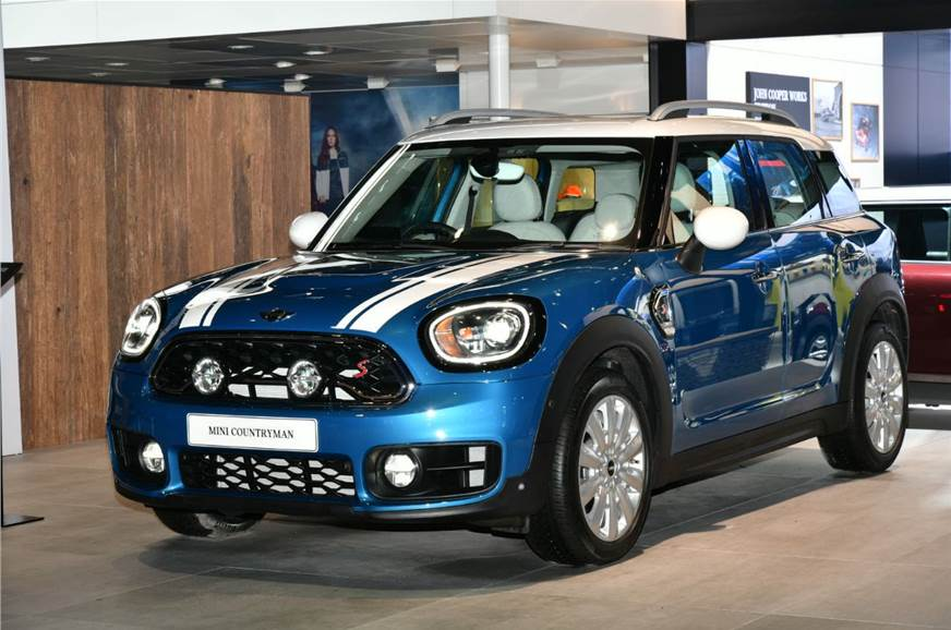 Auto Expo 2018 New 2018 Mini Countryman Suv Displayed At The 2018