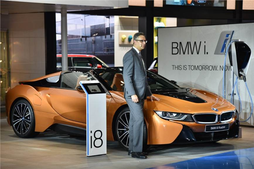 Auto Expo New BMW I Roadster Showcased In India Autocar India - Bmw car show 2018