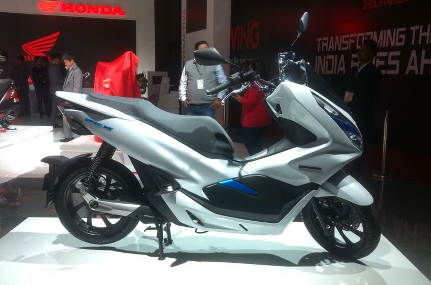 Honda Pcx Electric Scooter Showcased