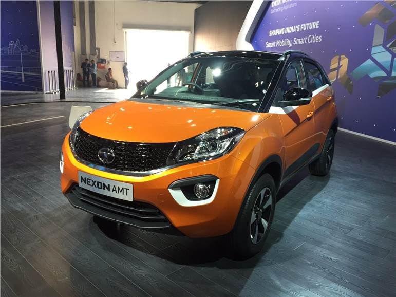 Auto Expo 2018 Tata Nexon Amt Price Launch Date Specifications