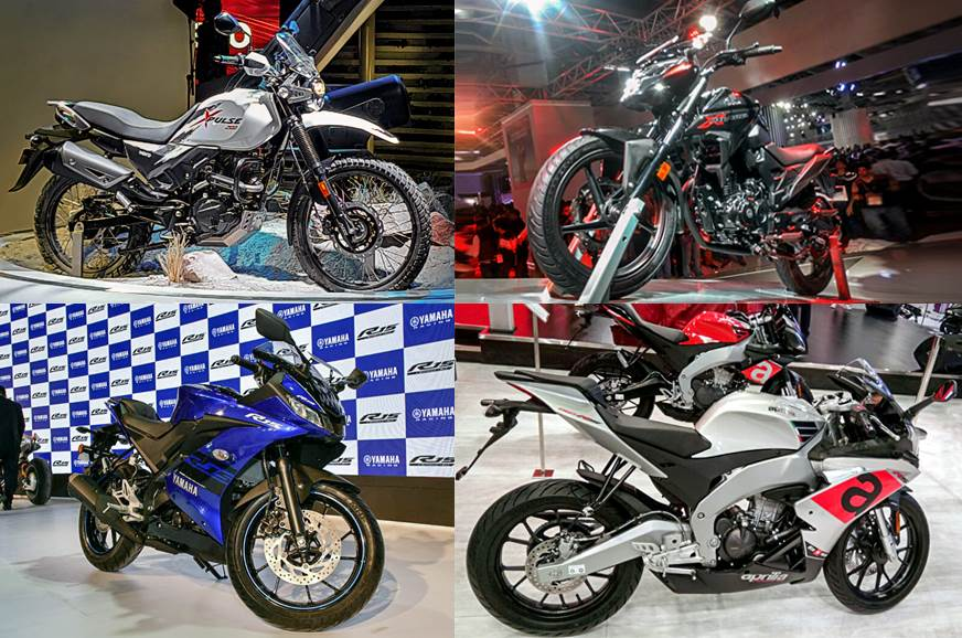 auto expo 2018 best bikes on display new launches autocar india