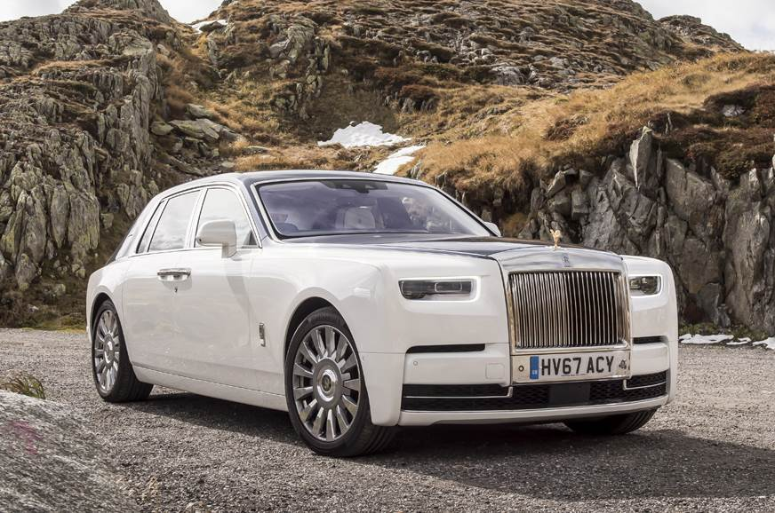 2018 Rolls-Royce Phantom India launch of standard and long wheelbase ...