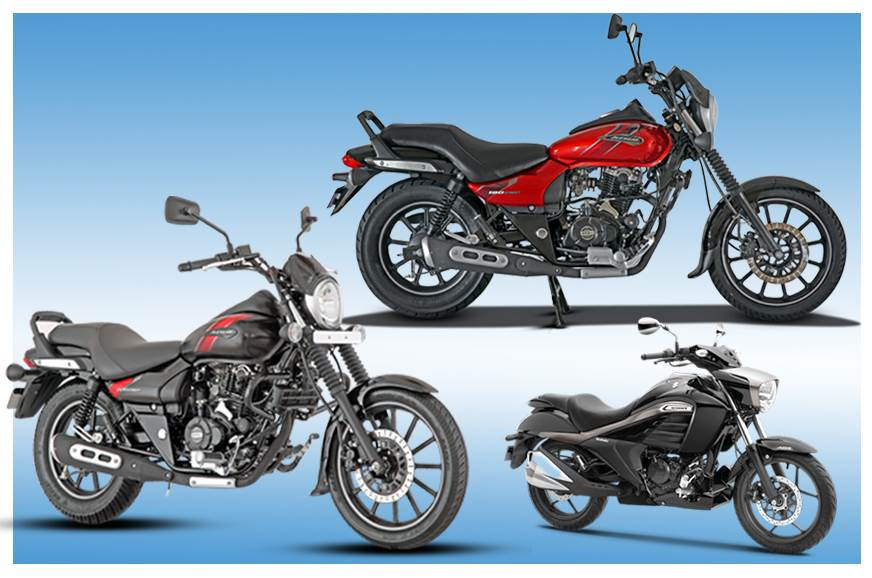 2018 bajaj avenger street 180 220 vs suzuki intruder specifications